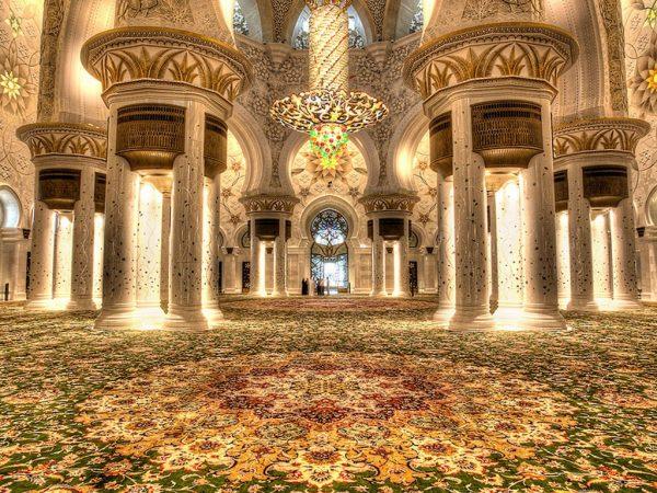 Prayer Hall Disinfection